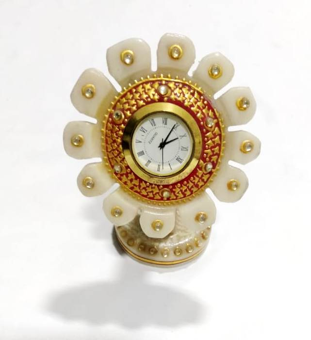 Marble Sun Flower Watch